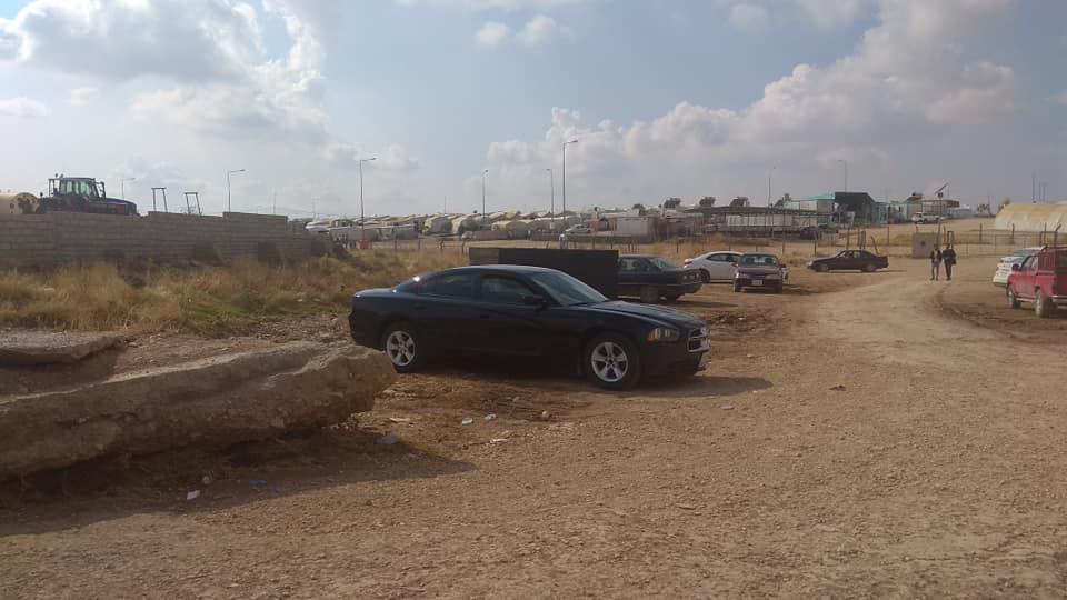 menekült tábor Duhok mellett
